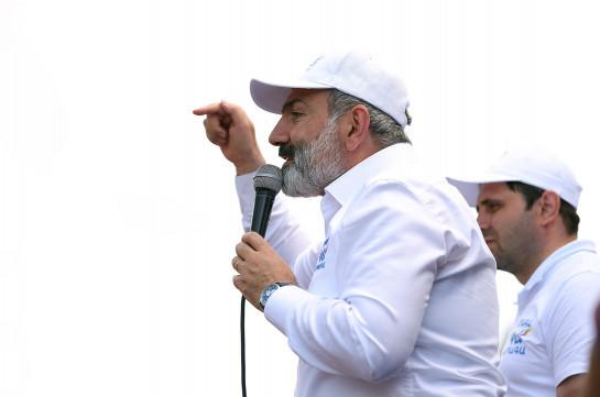 Отребье чиновников, которое попытается оказать незаконное воздействие на волю народа, 20 июня будет уложено на асфальт Агарака – Никол Пашинян