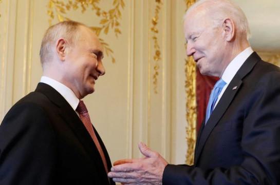 Путин и Байден выступили с совместным заявлением после саммита в Женеве