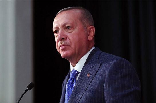 Эрдоган: Армения должна предпринять шаги по повышению доверия в регионе