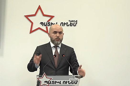 Власти задействовали силовые структуры, представителей блока «Честь имею» подвергают приводу – Армен Ашотян