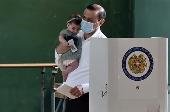 Քվեարկել եմ հանուն կայուն և անվտանգ Հայաստանի. ԱԽ քարտուղար