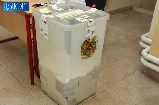 Voter turnout at Armenia's parliamentary polls reaches 49,4% as of 8pm