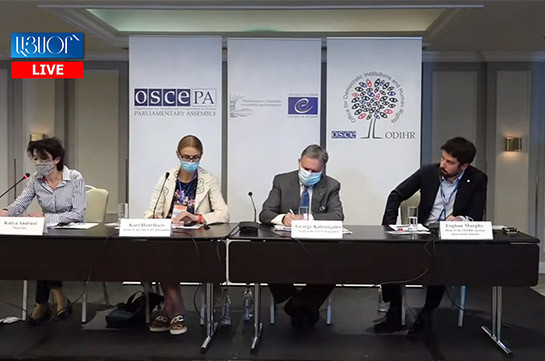 International observers positively assess organization and conduction of early parliamentary elections in Armenia