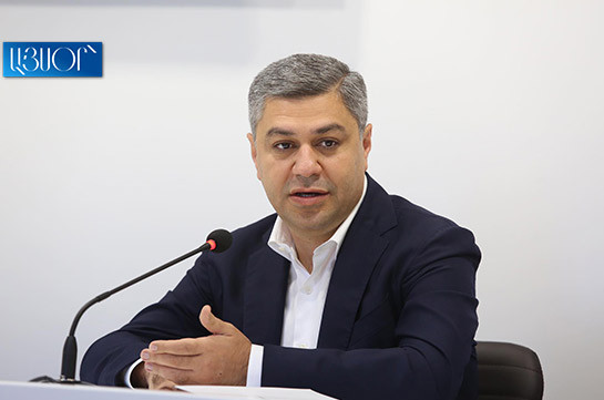 Artur Vanetsyan says he will be in legislature if bloc decides to accept the mandates