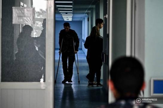 Միանվագ 500 000 դրամ օգնություն կտրամադրվի պատերազմում վիրավորված և ամբուլատոր պայմաններում բուժում ստացած անձանց