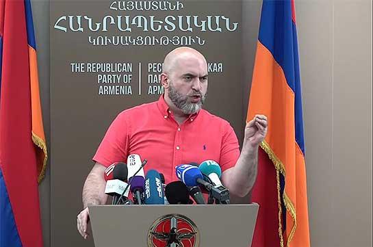 Эти выборы не решили ни одного вопроса, связанного с укреплением суверенитета и более стабильным политическим будущим Армения – Армен Ашотян