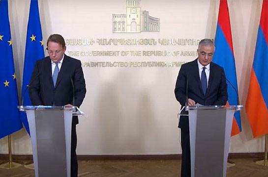 Հայաստանը շնորհակալ է ԵՄ-ին՝ հատկացվելիք 1.6 մլրդ եվրո արժողությամբ հանձնառության համար. Մհեր Գրիգորյան