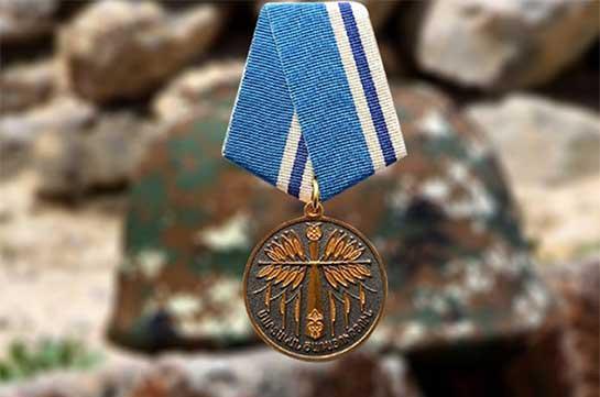 Погибший от выстрела противника Самвел Алавердян посмертно награжден медалью «За боевое дежурство»