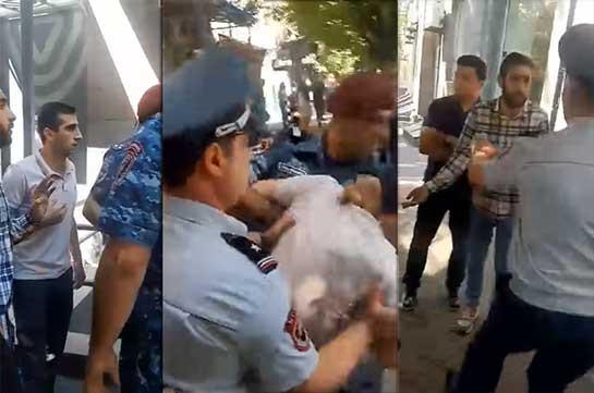 Полицейские необоснованно подвергли приводу молодежь АРФД – Студенческий союз «Никол Агбалян»