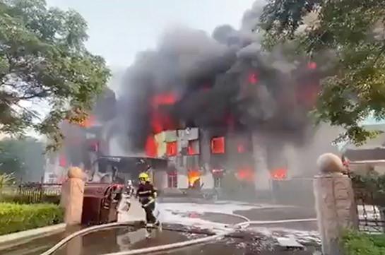 На заводе в китайской провинции Хэнань произошел взрыв