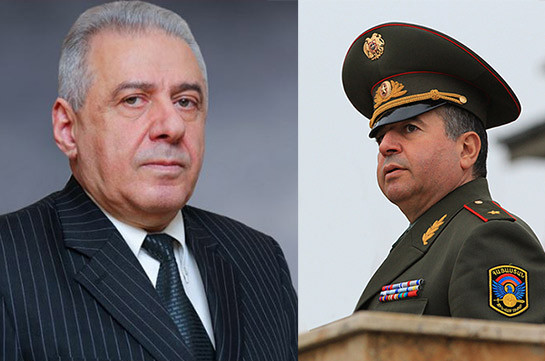 Вагаршак Арутюнян и Аршак Карапетян освобождены от должностей указами президента