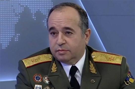 Arshak Karapetyan appointed first deputy minister of defense