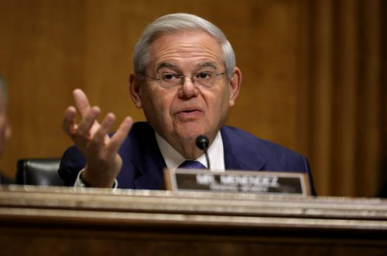 Senator Bob Menendez: Azerbaijanis interfere on the physical territory of Armenia, they will continue to be aggressive unless they have a clear message that it's not acceptable