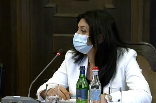 Հայաստանում կորոնավիրուսի աճի տենդենցը մոտակա օրերին շարունակվելու է. ծայրահեղ ծանր վիճակում է 48 հոգի. Նանուշյան
