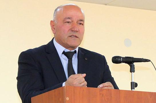 Сын губернатора Сюникской области Меликсета Погосяна объявлен в розыск