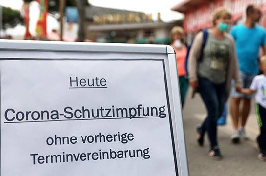 Գերմանիայում կքննարկվի չպատվաստված քաղաքացիների համար սահմանափակումների ներդրումը