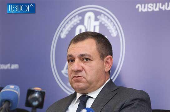 Рубен Вардазарян не будет привлечен к дисциплинарной ответственности: ВСС отклонил ходатайство Комиссии по предотвращению коррупции