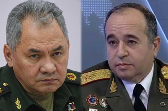 Շոյգուն Հայաստանի ՊՆ նոր ղեկավարի հետ քննարկել է տարածաշրջանային անվտանգության խնդիրները