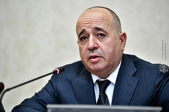 Armenia's first deputy DM leaves for Moscow to meet Russia's Shoygu (168.am)