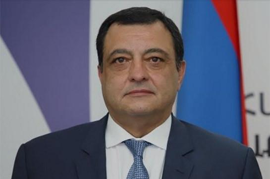 Рубен Харазян назначен послом Армении в Туркменистане