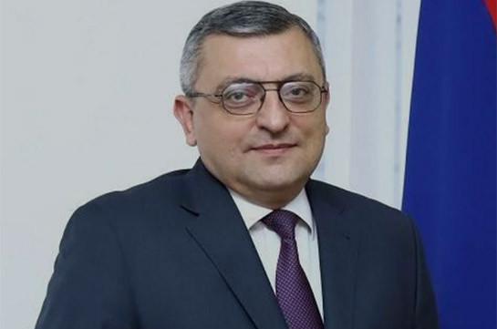 Грачья Поладян назначен послом Армении в Египте