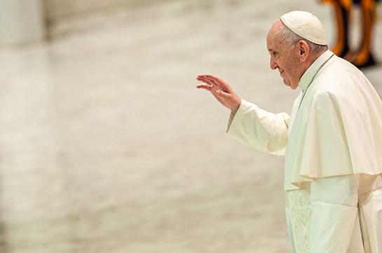 Папа Римский рассказал, почему голод является преступлением