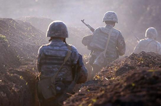 Armenian side has 3 casualties, 2 wounded - Armenia MOD