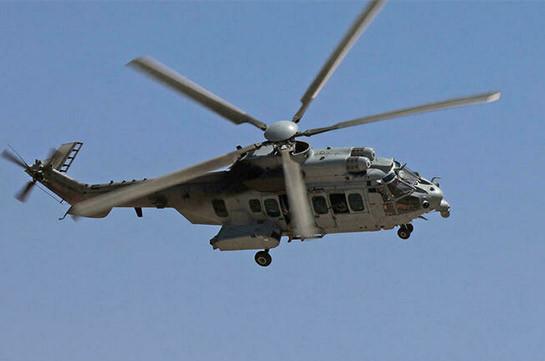 В Ираке разбился вертолет, пять человек погибли