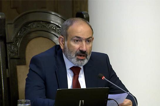 Транспортные коммуникации должны быть разблокированы, вопросы коридоров обсуждаться не будут - Пашинян