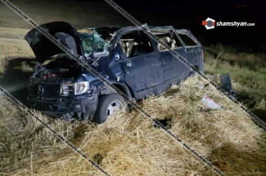 Ավտովթար՝ Սյունիքի մարզում․ «Եղնիկներ» զորամասի 27-ամյա սպան տեղափոխվել է հոսպիտալ