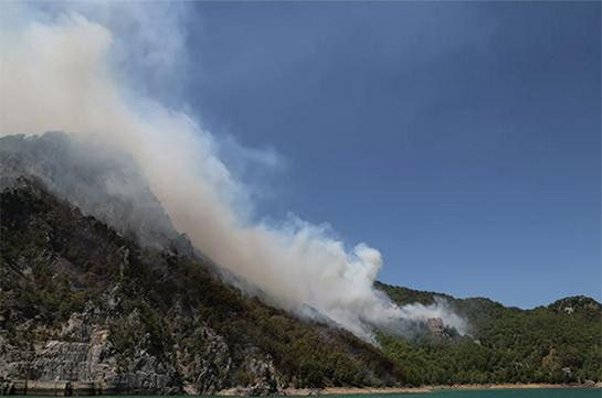Թուրքական իշխանությունները հայտարարել են անտառային հրդեհների իրավիճակի բարելավման մասին