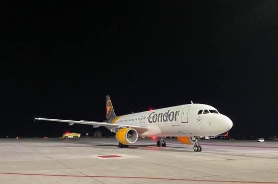 Авиакомпания Condor запустила рейс Франкфурт-Ереван-Франкфурт
