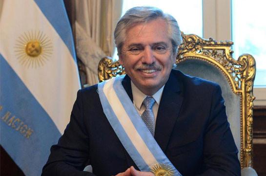 Президент Аргентины поздравил Никола Пашиняна в связи с назначением на пост премьер-министра