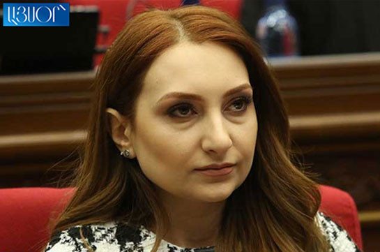 Ex-head of My Step faction Lilit Makunts appointed Armenia's Ambassador to the USA