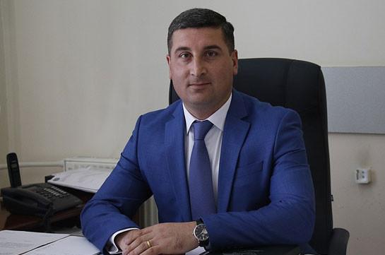 Гнел Саносян назначен министром территориального управления и инфраструктур