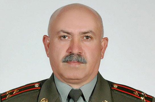 Валерик Кочарян освобожден от должности начальника управления боевой подготовки Главного управления подготовки ВС Армении