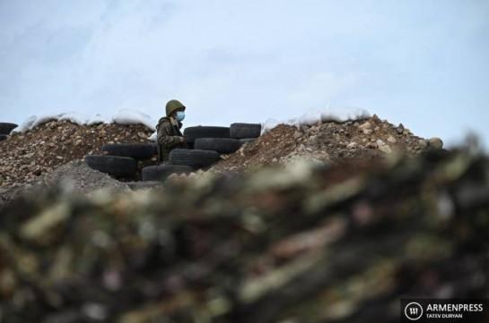 Azerbaijan violates ceasefire in two sections of the Armenian-Azerbaijani border