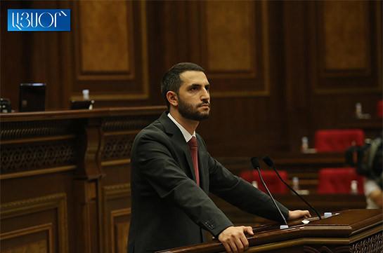 Азербайджан не может в любой момент вторгаться на территорию Армении – Рубен Рубинян
