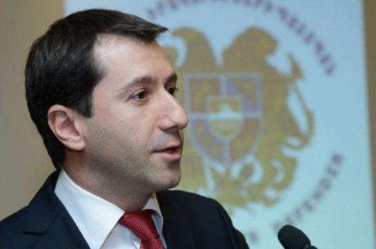 Карен Андреасян назначен министром юстиции