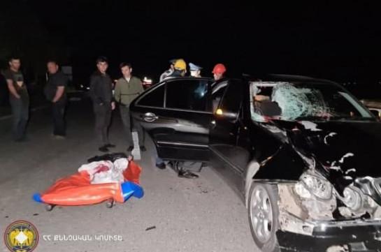 Դաժան վրաերթ՝ Երևան-Սևան ավտոճանապարհին. կնոջ մարմնի մասերը մասնատվել են (տեսանյութ)