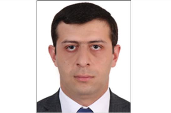 Վահե Հակոբյանն ազատվել է վարչապետի արարողակարգի պատասխանատուի պաշտոնից