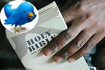A devout Christian to tweet the Bible within three years