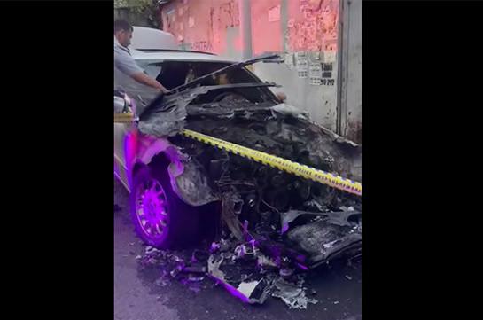В Ереване подорвали автомобиль супруга Заруи Постанджян