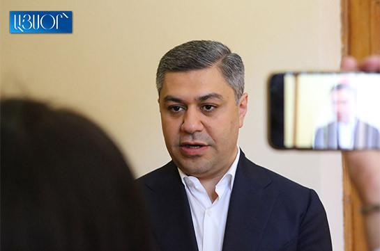 Во фракции «Честь имею» нет людей, которые проголосовали против кандидатуры Ишхана Сагателяна – Артур Ванецян