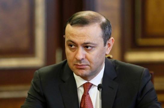 Секретарь Совета безопасности Армении Армен Григорян посетит Душанбе