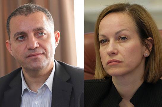 В Армению на заседание межправкомиссии прибыли министр социальной политики Украины и депутаты