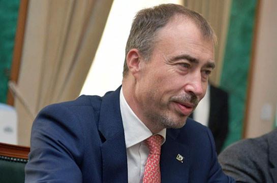 Спецпредставитель ЕС на Южном Кавказе прибыл в Армению