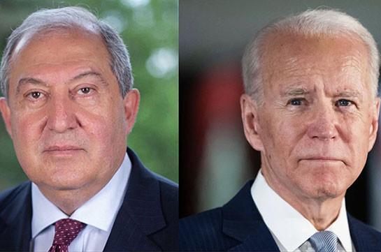 Հայաստանը խստորեն դատապարտում է ահաբեկչության բոլոր դրսևորումները. Արմեն Սարգսյանը ուղերձ է հղել ԱՄՆ նախագահ Բայդենին