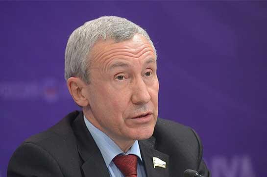 Россия как член ОДКБ будет защищать границы Армении от внешнего вмешательства - сенатор