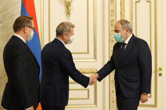 Пашинян обсудил карабахское урегулирование с французским сопредседателем Минской группы ОБСЕ